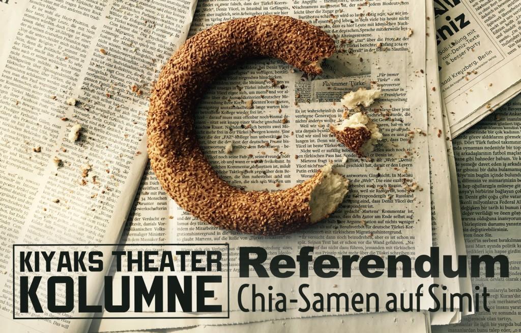 Referendum – Chia-Samen auf Simit
